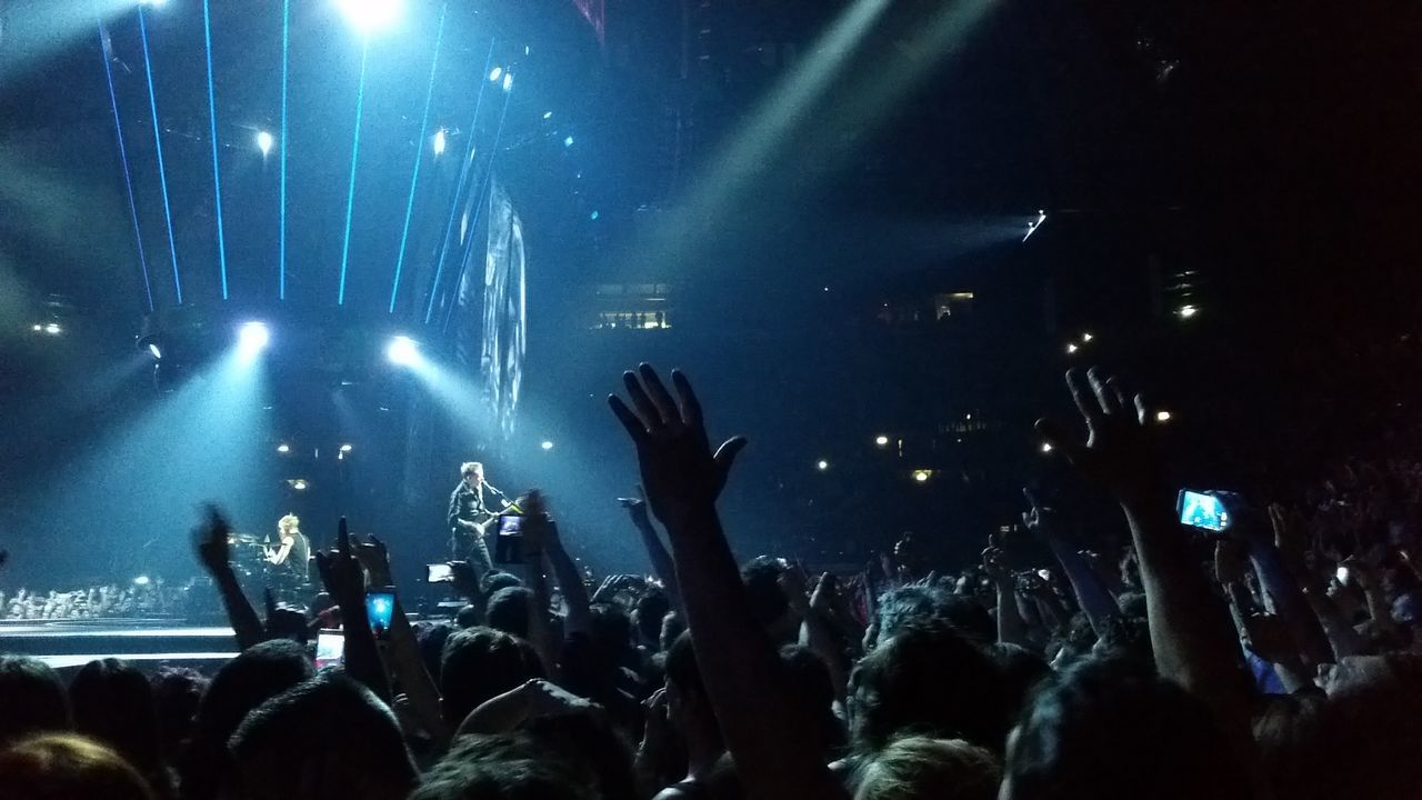 TBT pics of MUSE concert in Milano Balls Concert Concert Photography Enjoying Event Fun Hands Hands In The Air Hands Up Illuminated Lights And Shadows Mobilephones Muse Night Nightlife Performance Person Phones Popular Music Concert Music Brings Us Together