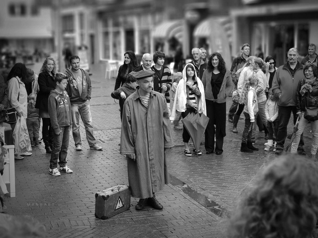 O n S t a g e ~ Tadaa Community ~ Black & White ~ Streetphotography ~ P510