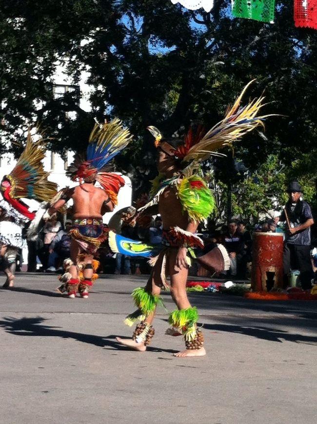 Aztec Dancer @ Plazita Olvera #dope