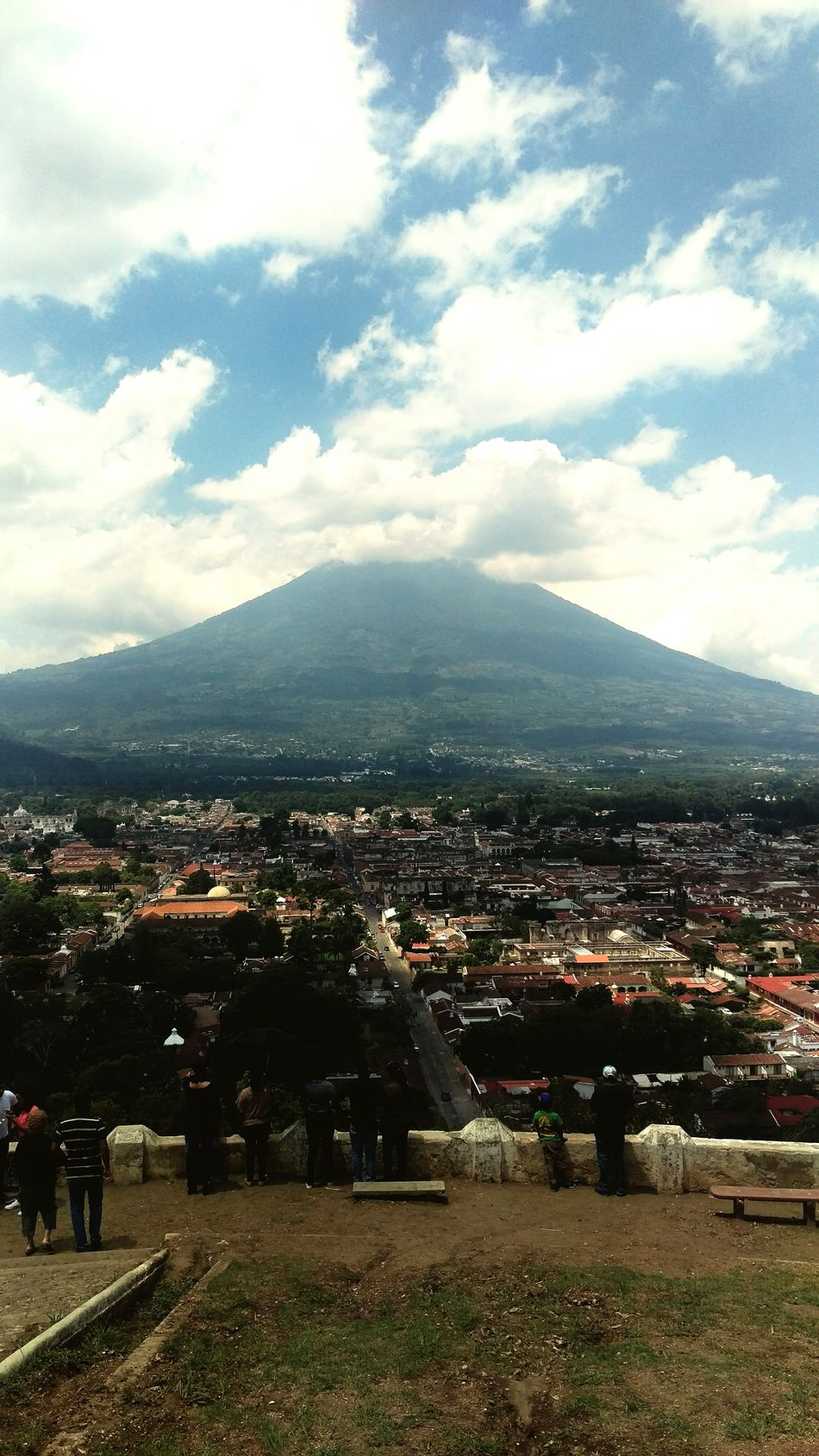 Ciudad Colonial Antigua, Guatemala.Antigua, Guatemala Water Volcano Adventure Club