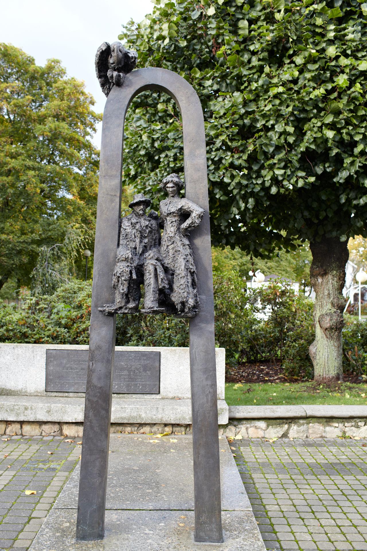 Art Aspazija Baltic Figure Janis Plieksans Jurmala Latvia Poet Rainis Sculpture Stone Writers