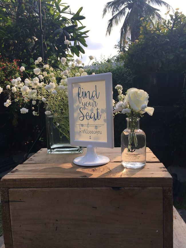 Find The Secret Wedding Huahin