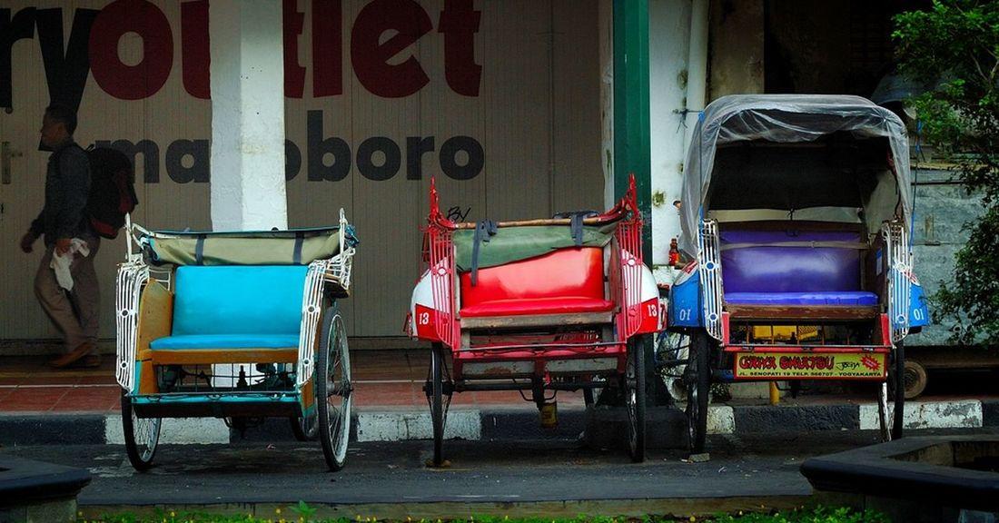 """Transport"" Becak Transport Streetphotography Malioboro"