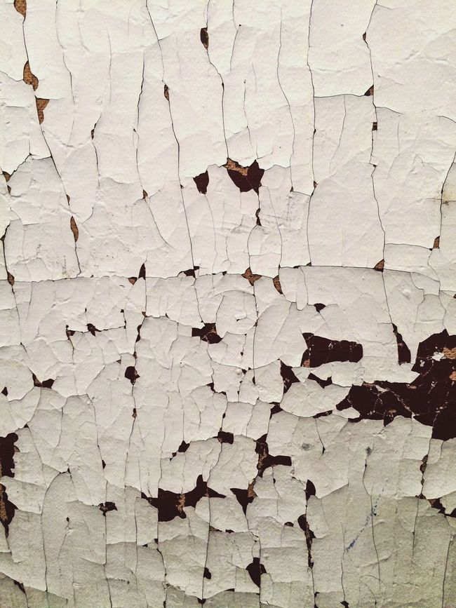 Chipping Peeling Paint Chipping Paint Cracked Paint Old Buildings Interior Close Up Full Frame