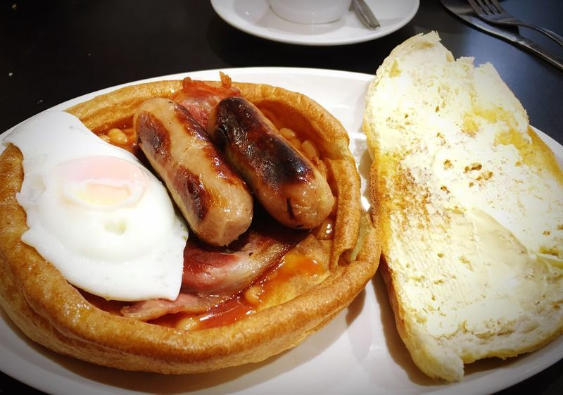 breakfast Scarborough Yorkshire Pudding Plate Food Food And Drink Ready-to-eat Freshness Breakfast Indoors  Food Stories