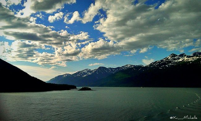 ~I really miss those times, where the sun would set at 10 and we would play all day~ (tb to Alaska) Landscape Clouds And Sky Nature Water_ Collection