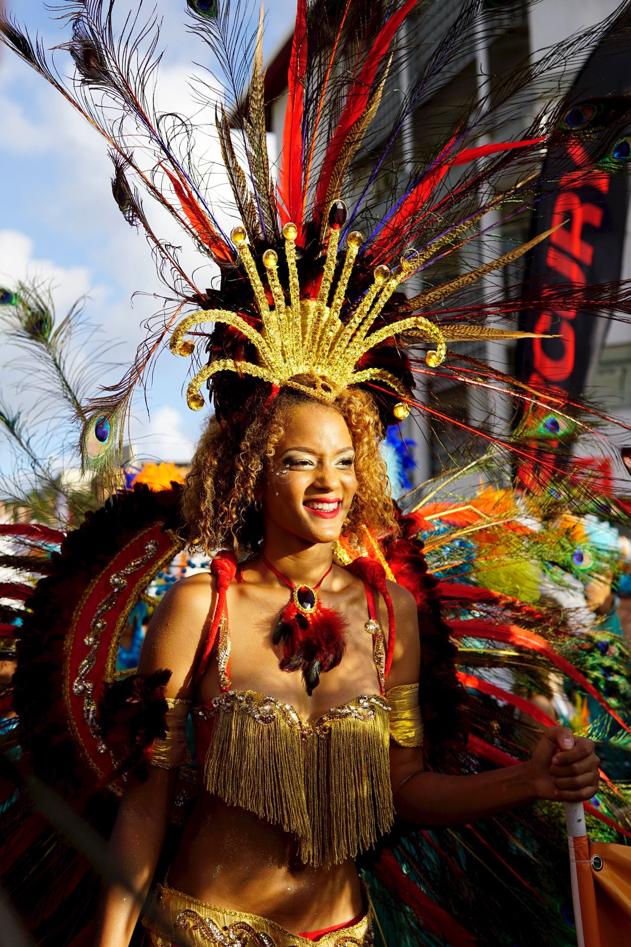 Carnival Crowds And Details Cultures Arts Culture And Entertainment Headdress One Person Only Women Dancer Traditional Clothing One Woman Only Multi Colored Performance Dancing Lifestyles Traditional Dancing Beauty Outdoors One Young Woman Only Portrait People Beautiful Woman Martinique Caribbean
