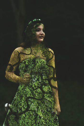 Mother Earth Mother Nature Nature Green St Patrick's Day St. Patrick's Day Green Color Green Green Green!  Woman Earth Moss Ground Vines Surrealism Surreal Surrealist Art Manipulation Fine Art Fine Art Photography Fineart