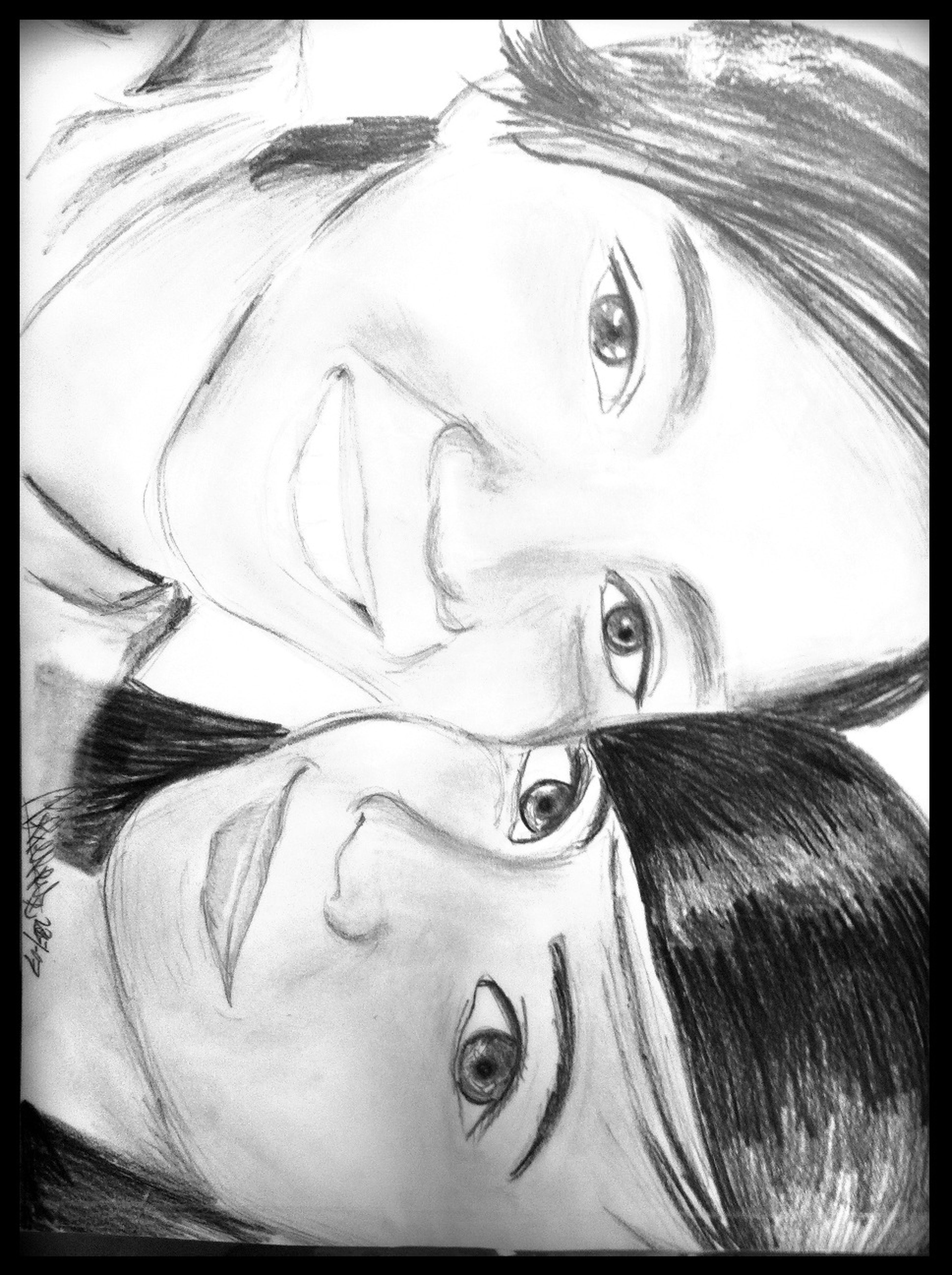 my first sketch potrait for loves at ZKL's Family Fort My First Sketch Potrait For Loves