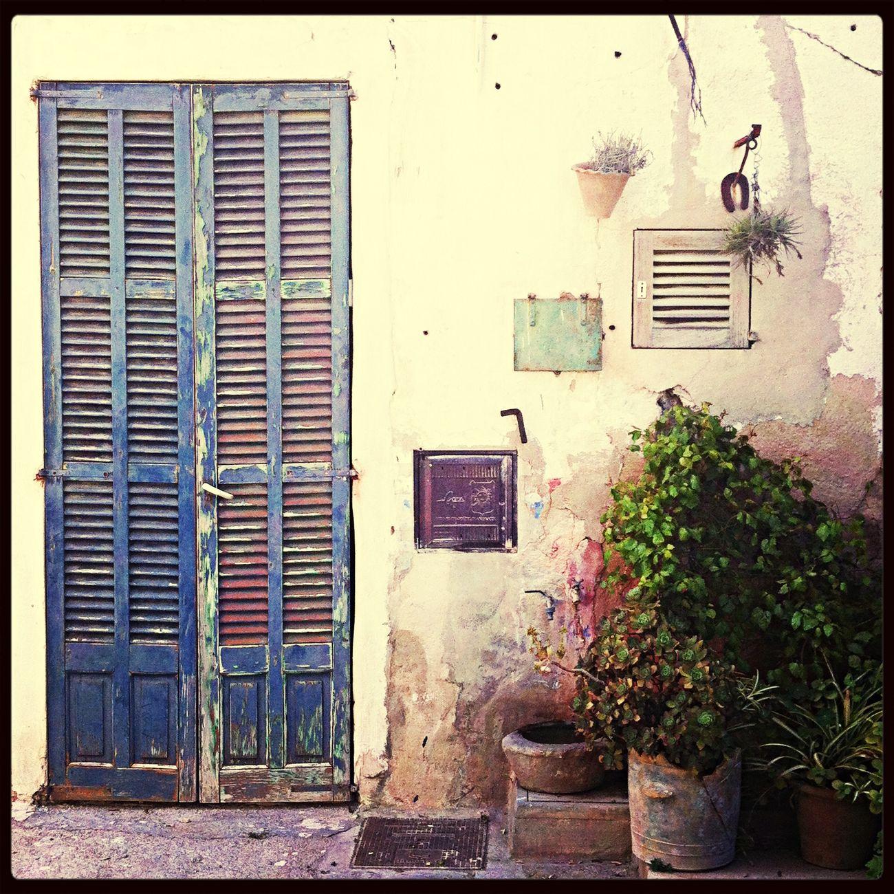 Mediterranean  Streets Town Doors