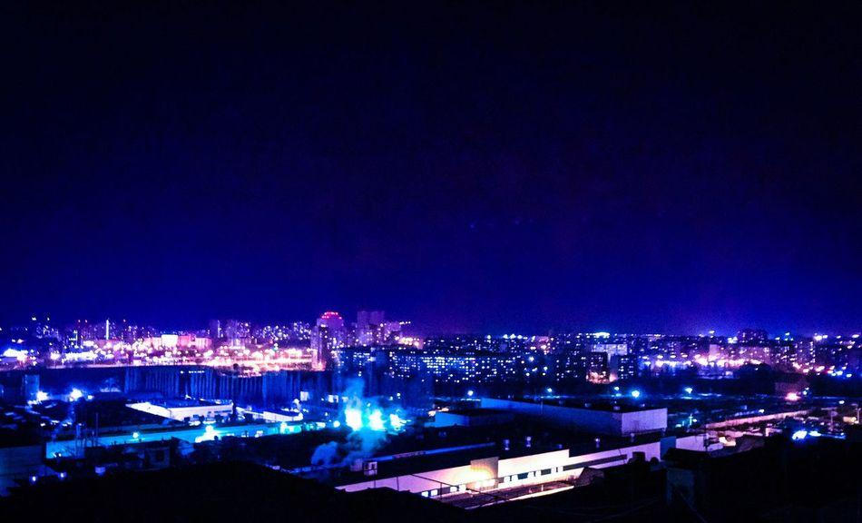 Illuminated Night Architecture City Built Structure Building Exterior Sky Cityscape No People Outdoors Lipetsk липецк