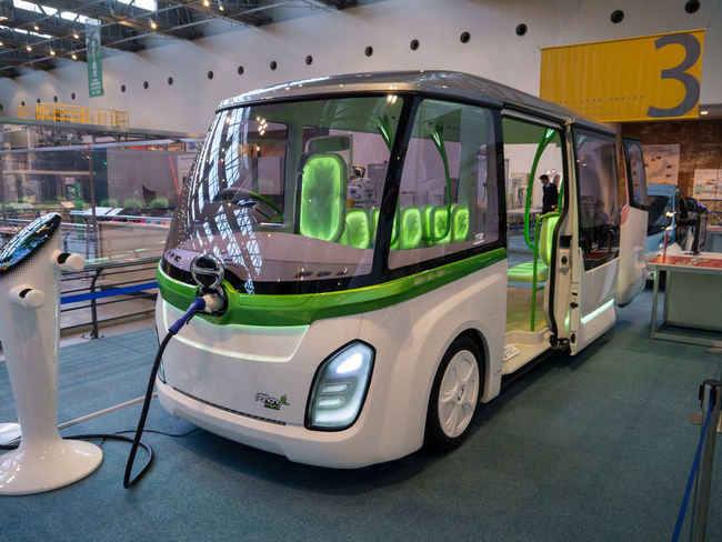 Future Bus Bus Day Electric Electric Vehicle Future Vision Mode Of Transport Parking Stationary Toyota Toyota Bus Vehicle