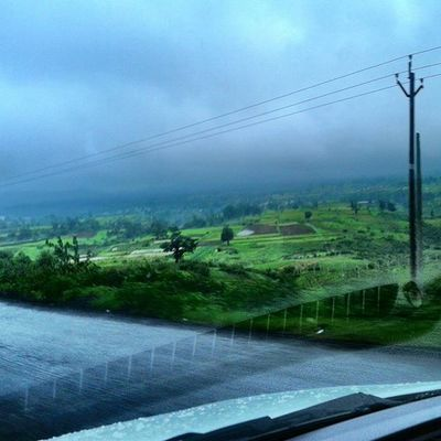 Awsome weather returning from gujarat Drive Car Weather Saputara gujarat nashik nasik journey clouds mountains nature scenery