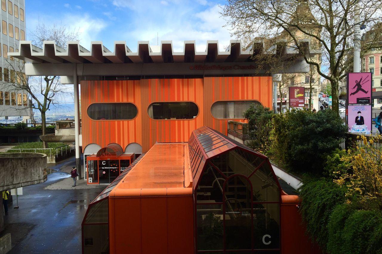 Architecture 70s 70s Orange