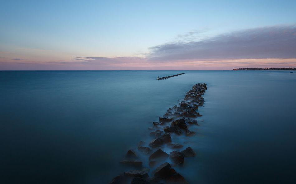 Beautiful stock photos of rock, Afterglow, Dusk, Evening, Horizon