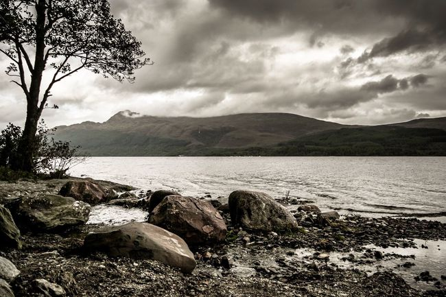 Loch Lomond, Scotland Landscape_Collection Picoftheday Travel Photography Canon Capture The Moment Home Scotland Scenics Photooftheday Clouds Landscape Photography Beauty In Nature Mountain Lake Water Sky Landscape_photography LochLomond Travel Art Nature Adventure