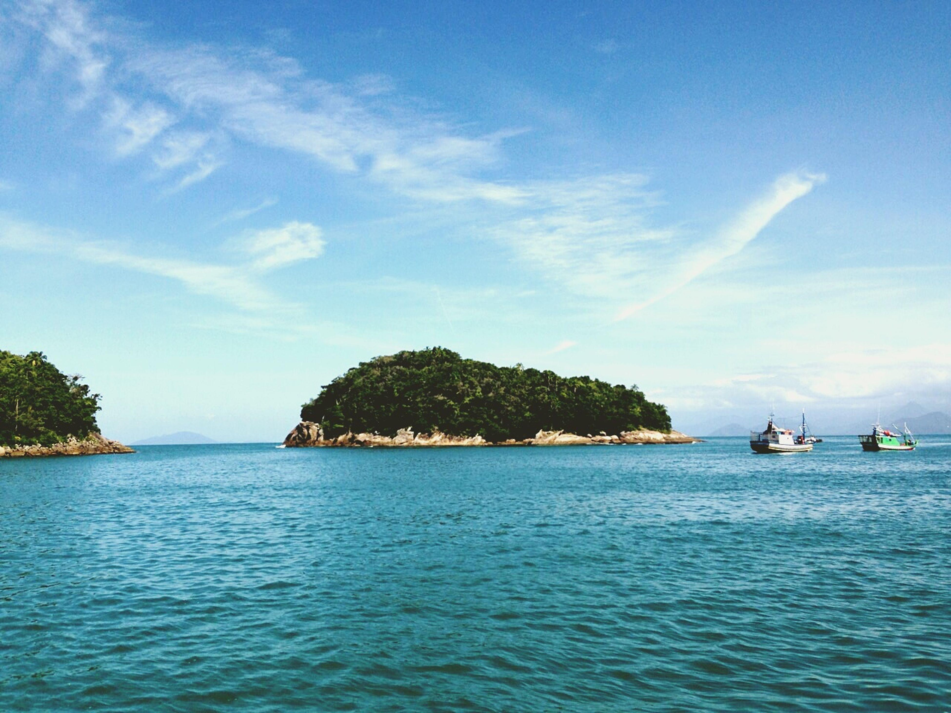 Picinguaba Praia Ilha Das Coves Mar Azul Relax Beautiful Nature Ubatubasp