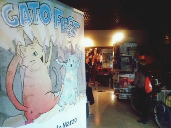 En el Gato Fest!!! Centro Arte Alameda