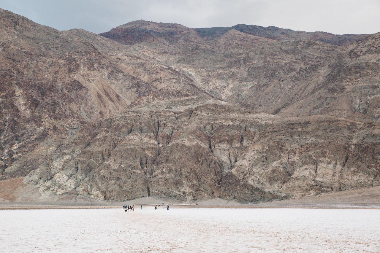 Arid Climate Arid Landscape Badwater Basin Clouds Death Valley Death Valley National Park Death Valley, California Desert Landscape Salt Storm
