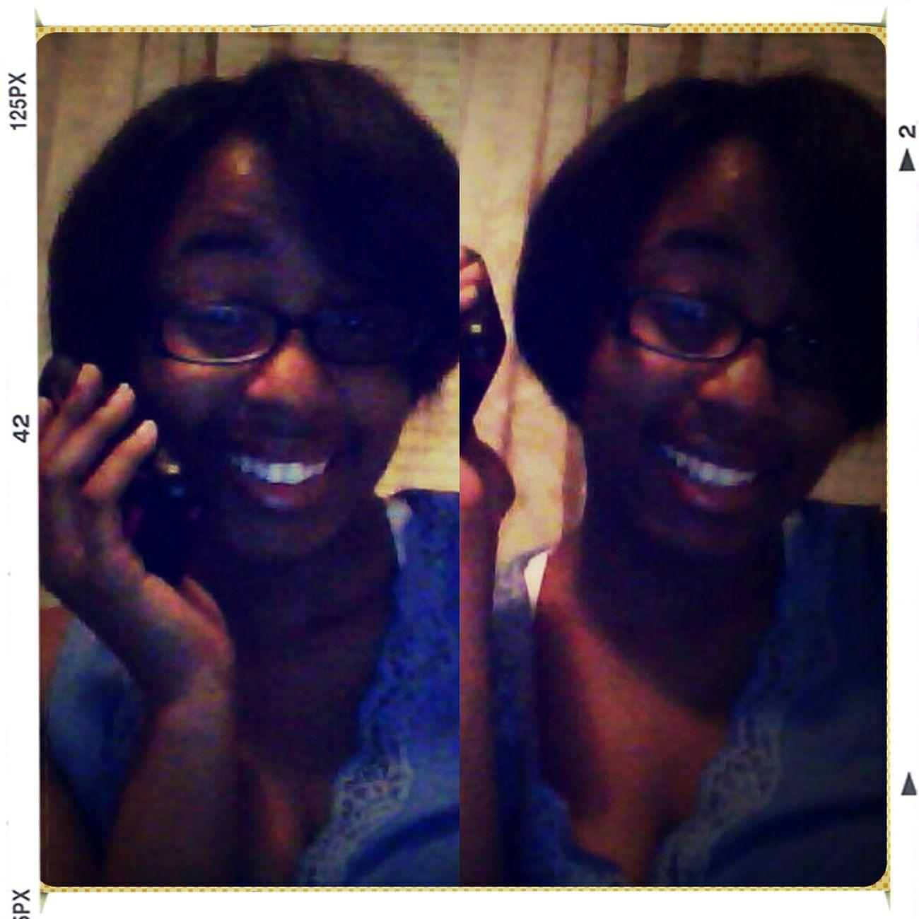 On the phone with my ex Matthew . eeeh lol ☎☏