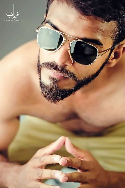 Uniform Boy Shirtless Workout Dof Glasses Studio Photography Faryabshah Photography