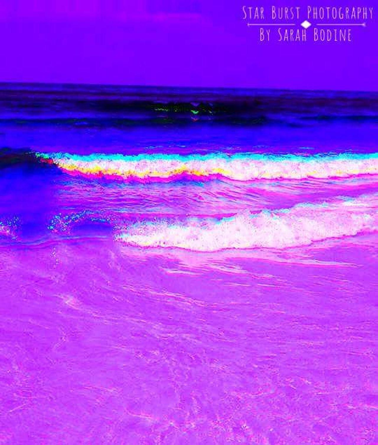 Purple Abstract StarBurstPhotography Nature Ocean Photography Digital Editing