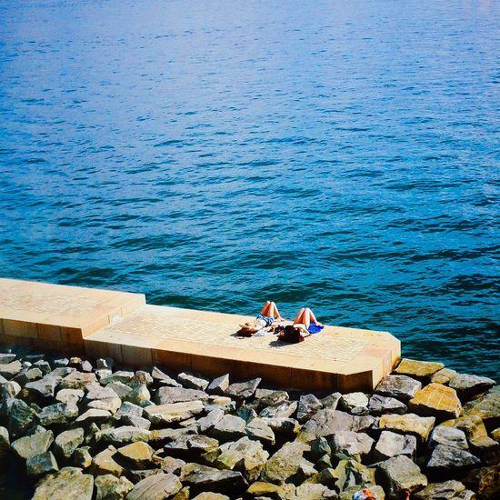 Resting mermaids of Northern seas   Astrup Fearnley Museum Beach, Oslo, Norway Beautiful Beach Oslo Norway Resting Eyeem Oslo Norwegian Onthebeach Summertime