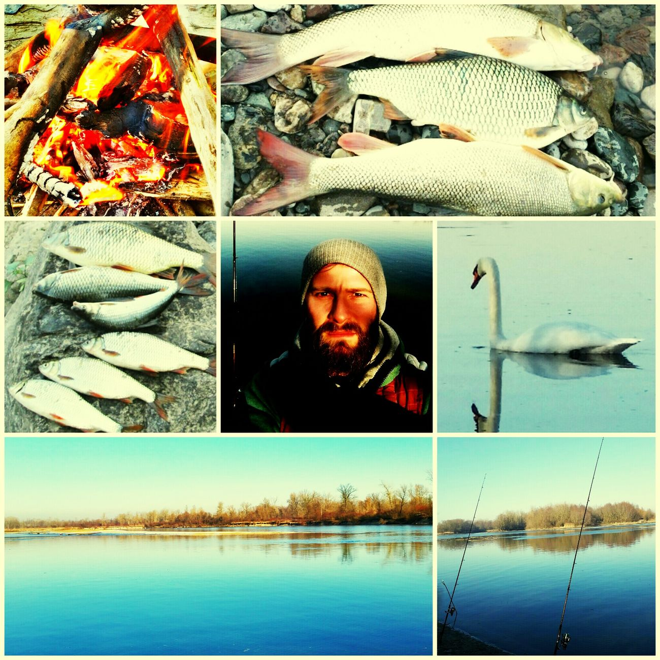 Sun, River, Fishing& Nature Photography.... Relax Day