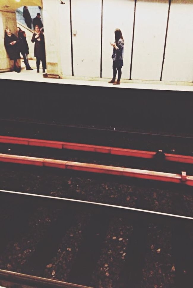 Thanks for the pic Alex. People Watching IPhoneography Subway Red Station Railway