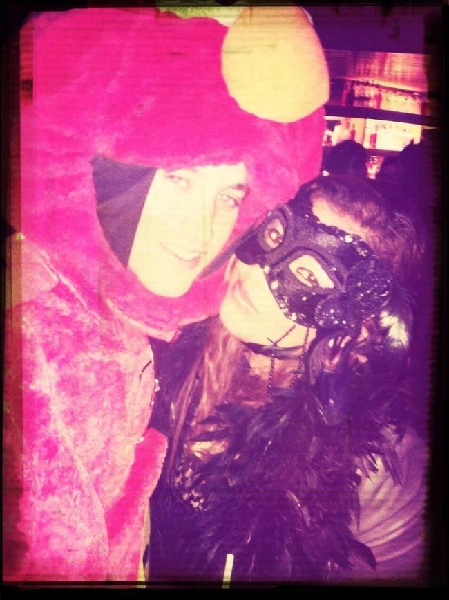 Halloween night.