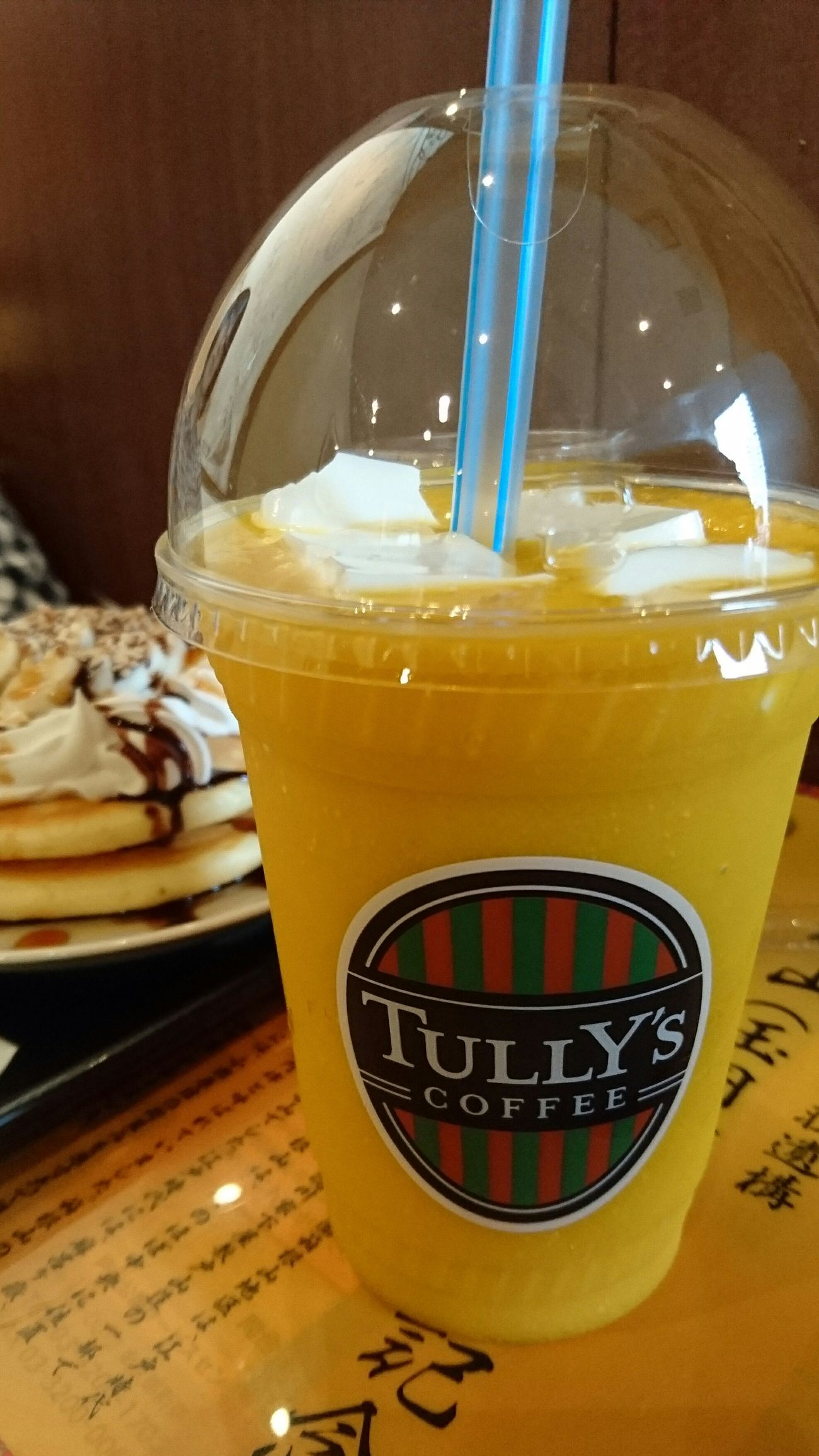 Mango Almond Jelly Taking Pictures In My Mouf Cold Drinks Favorite XperiaZ5 ExperiaPhotography Sony Xperia