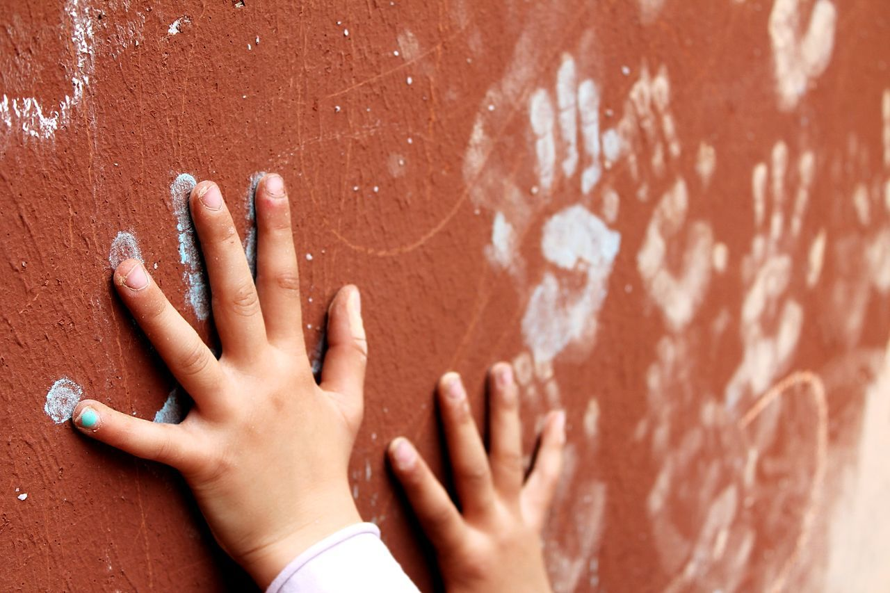 Hand Childhood Children Photography Handprint Kids Being Kids Chalk Little Hands Taking Photos Kids Playing Hands