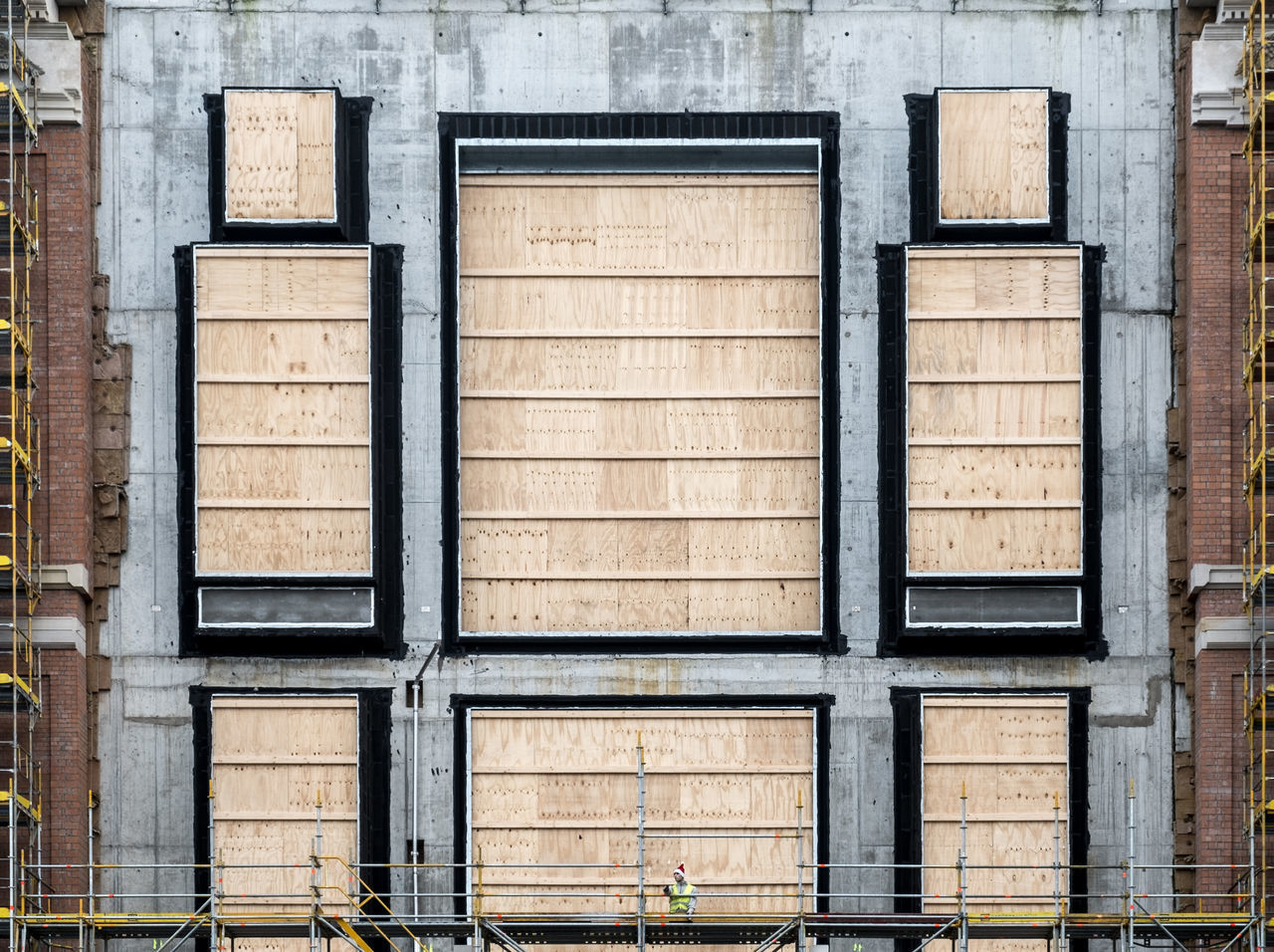 Constructionartfacade Architectural Detail Architectural Feature Architecture Architecture_collection Architecturelovers Building Exterior Building Story Built Structure Close-up Façade No People Outdoors Urban Geometry Urbanphotography