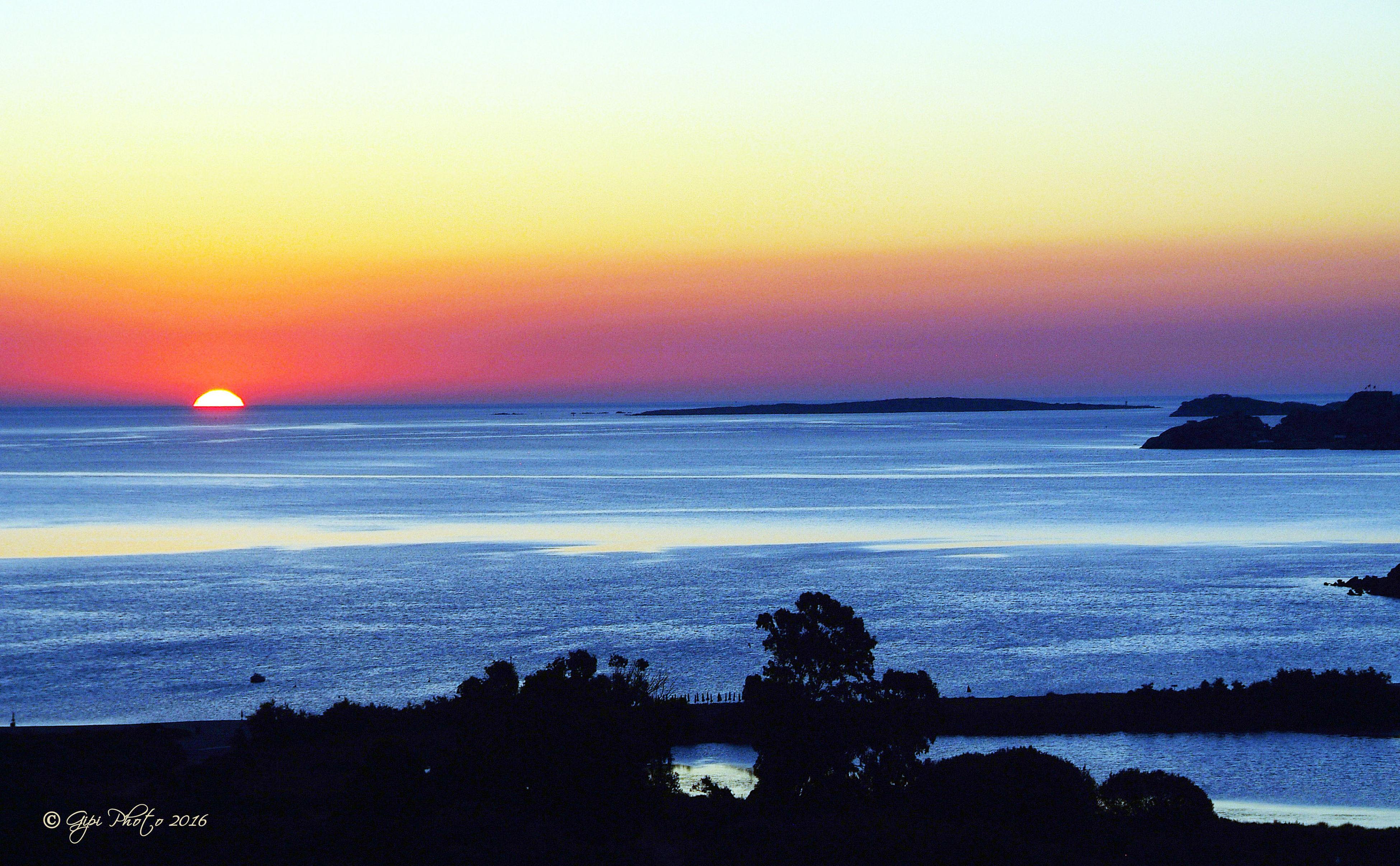 Sky Sea Sardinia Beach Sunset Nature Arzachena Tanca Manna