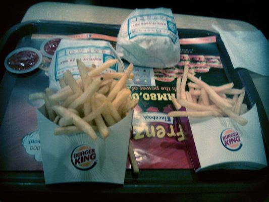Checking in at Burger King by Tajinder Kaur