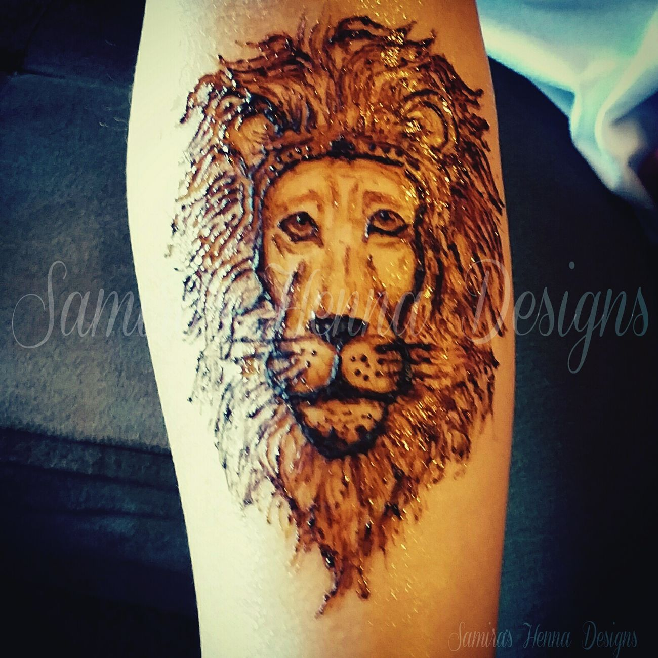 Lion Kingofthejungle Henna Hennatattoo Henna Artist Henna Pro Art Artist Open Edit Mehndi