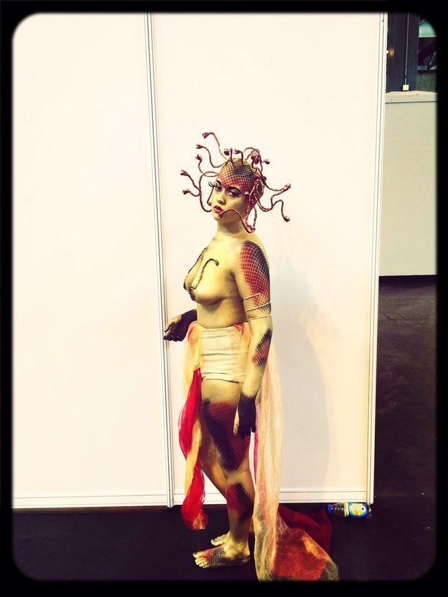 My entry.... So proud of my work WorldskillsUk Media Makeup Body Painting Makeup