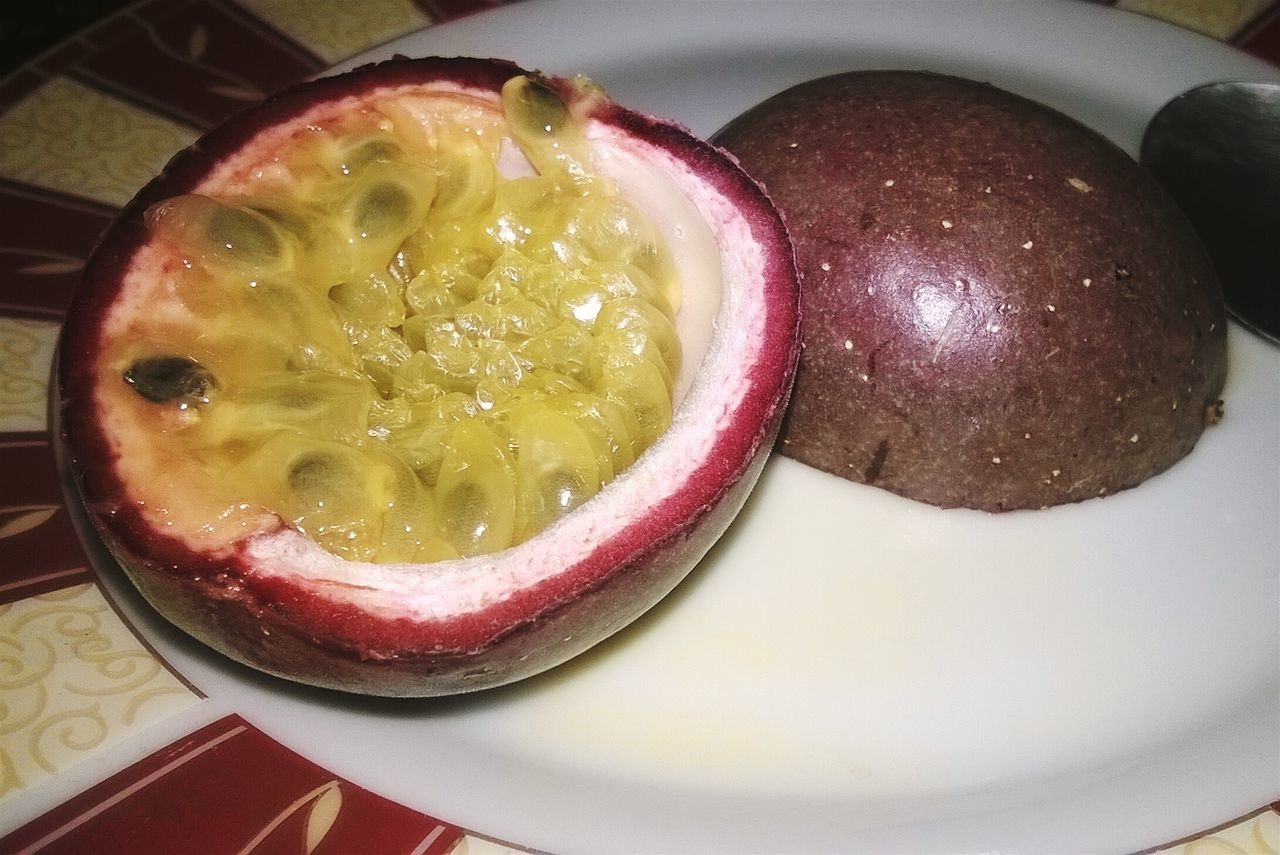 Passionfruit Marakuja Food Plate Healthy Eating Sweet Food EyeEmNewHere Fruit Awsome