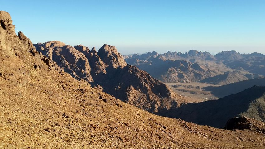Mountains of Saint Cathrine, Sinai, Egypt. ❤ Mountain Mountain Range Mountains Mountain View Climbing Climbing A Mountain Climb Hiking Hikingadventures Hiking Day Hikingphotography Hiking Trip Landscape Sky Nature Beauty In Nature Day Morning Morning Light Morning Sky No People Outdoors Vacations Vacation Vacation Time Finding New Frontiers