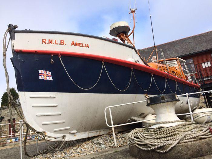 Boat History Lifeboat RNLI Lifesaving Nautical Vessel