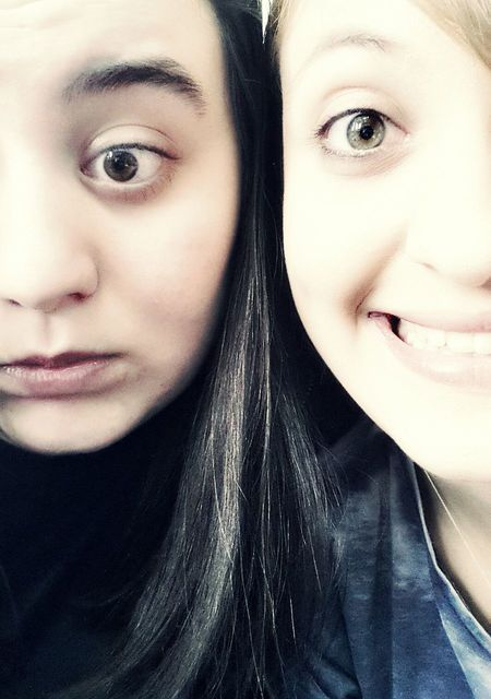 Me&MyBestfriend Bigsmile Green Eyes Happyhappyhappy