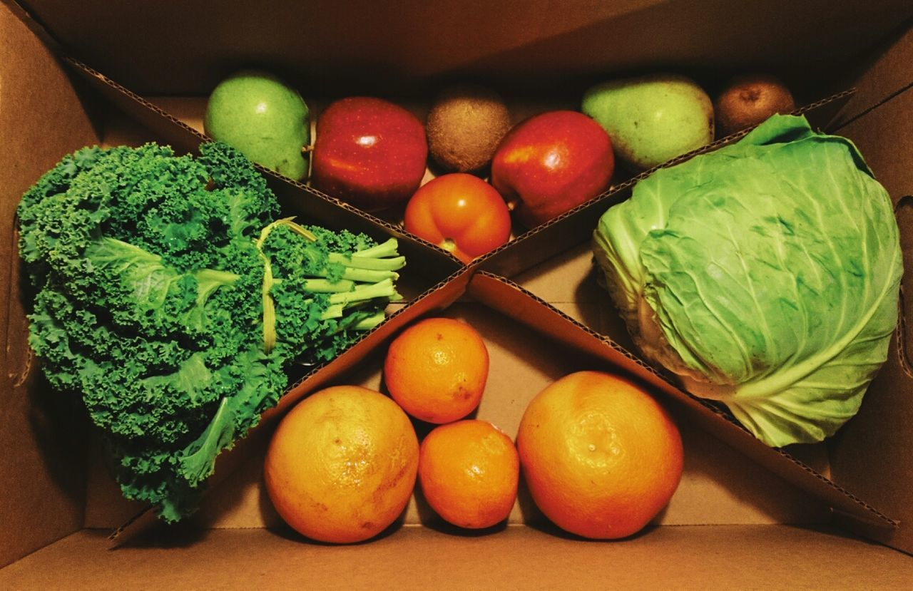 Beautiful stock photos of fruit, Apple - Fruit, Box - Container, Broccoli, Cabbage