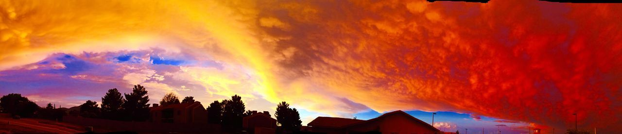 Colorful Sky Outside Photography Monsoon End Of The Day AZ Az Storm Cloud Porn Monsoon Magic The Real Deal  IPhoneography