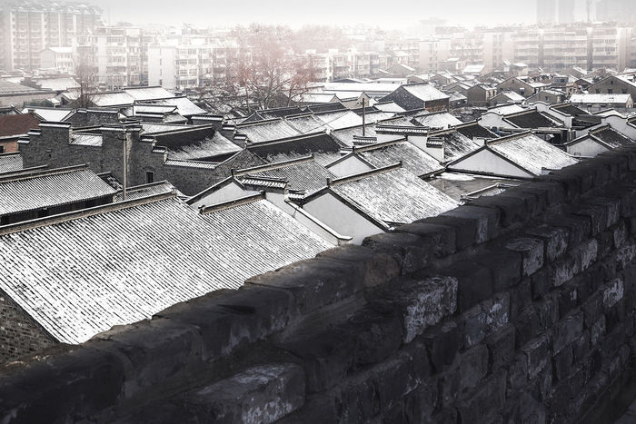Ancient Architecture Residential Architecture Tourist Destination Architecture Built Structure Cold Temperature Complex Day No People Outdoors Sky Snow The City Light Tourist Attractions Winter