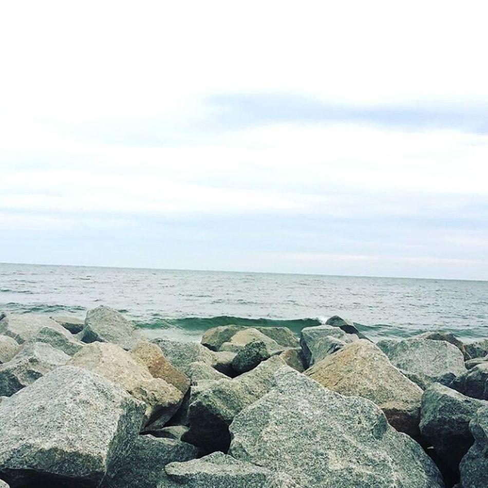 Fort Fisher, North Carolina Beach North Carolina Fort Fisher Ocean Sky Sea First Eyeem Photo