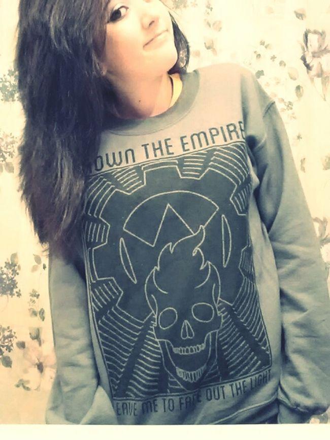 Band sweatshirt! C: Hot Topic Crown The Empire