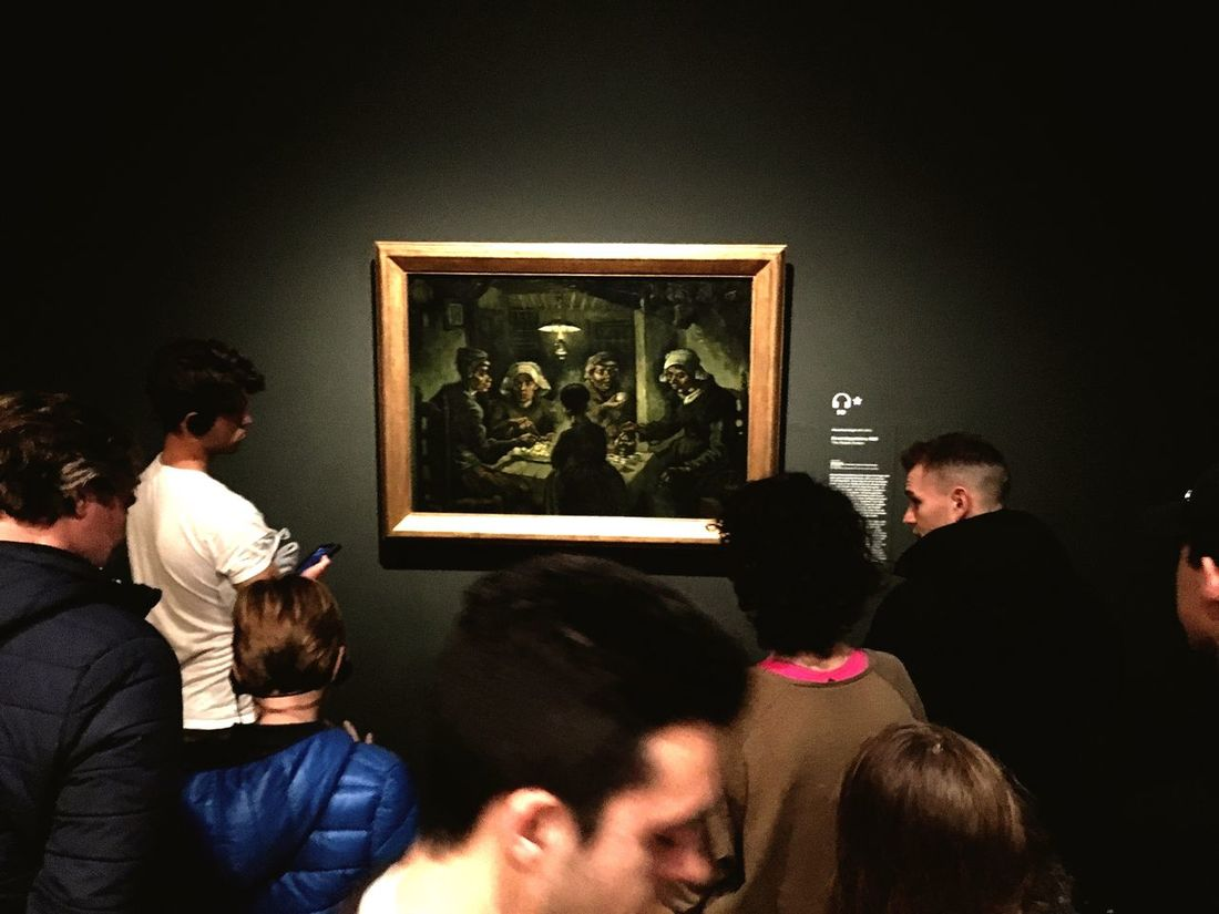 The Tourist Vincent Van Gogh Vincent Van Gogh Museum Nivlem Hello World Amsterdam Check This Out EyeEm Gallery Enjoying Life Art Gallery Museum Art Painting