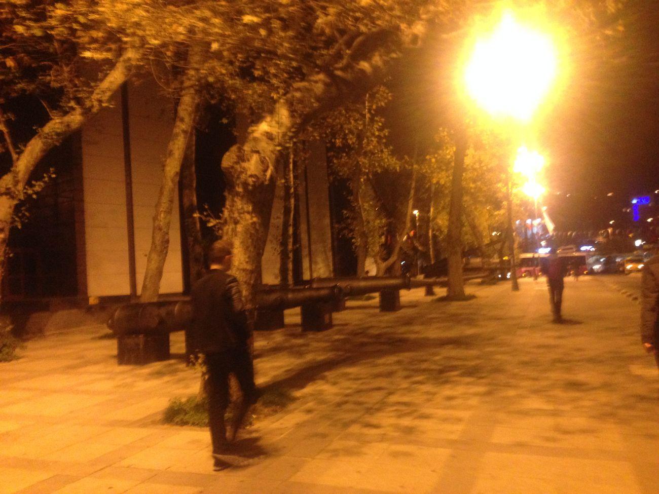 Street Walk Througt To Light