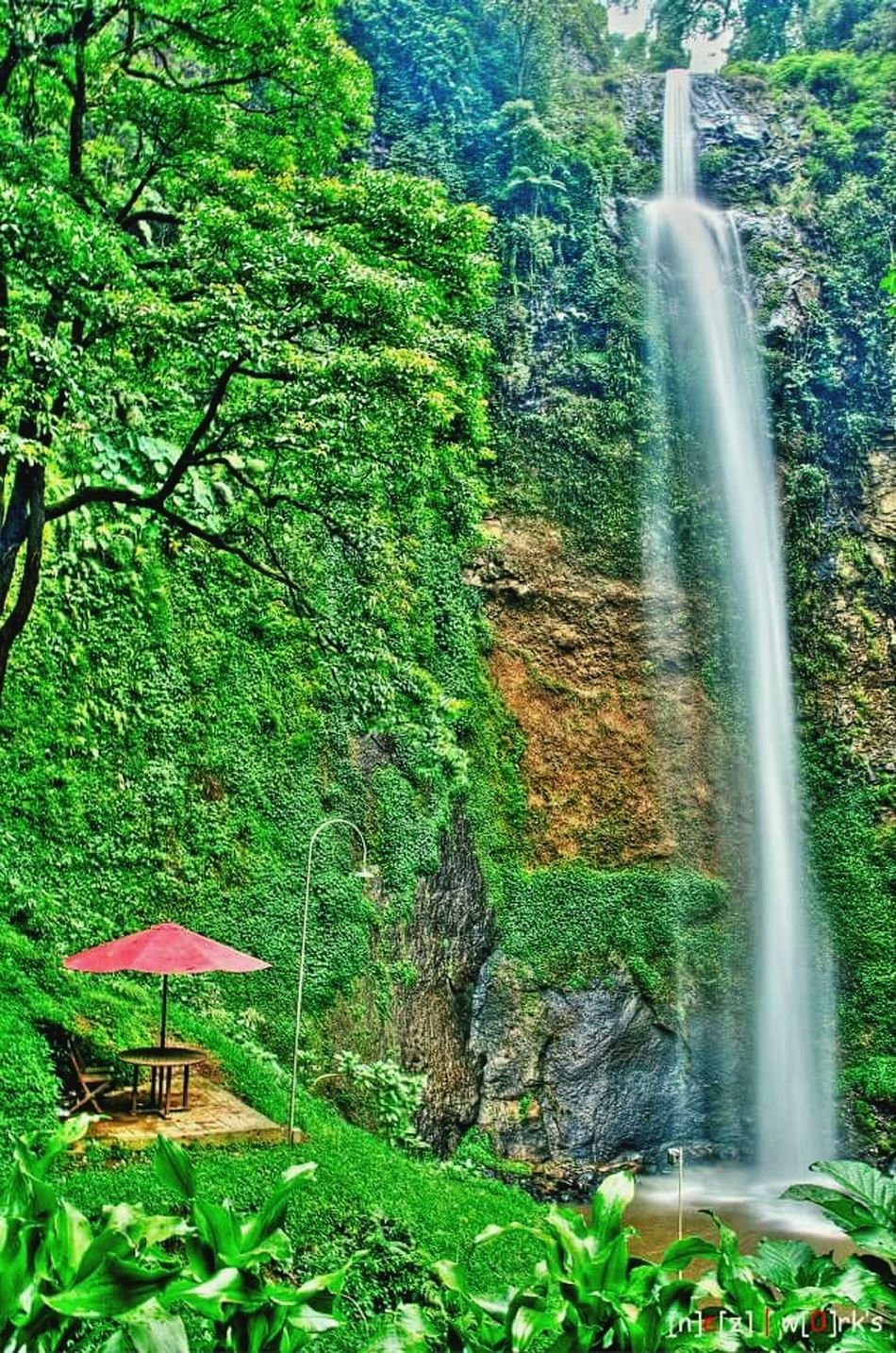 Curugcimahiindonesia First Eyeem Photo 43 Golden Moments Feel The Journey Visitindonesia Waterfall Nature Beautifulplaces