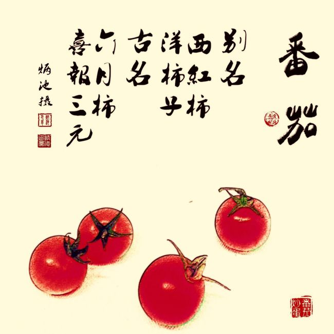 Tomato The EyeEm Facebook Cover Challenge Vegetables Photography EyeEmBestPics Photoshoot EyeEm Best Shots EyeEm Nature Lover EyeEm Gallery Photo Photooftheday EyeEm First Eyeem Photo The Traditional Chinese Painting 国画 Chinese Style Chinese Style Building